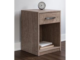 Signature Design by Ashley Flannia Gray One Drawer Night Stand