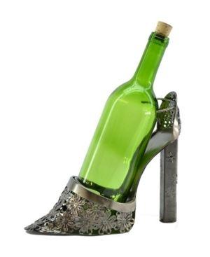 Three Star Im Ex Inc  lady High Heel Shoe 1 Bottle Tabletop Wine Rack