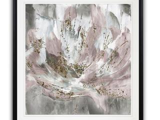 Blush Flower Power  Framed Giclee Print   30X30