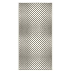 Barrette Clay Privacy Vinyl lattice  Common  0 2 in x 4 ft x 8 ft  Actual   19 in x 4 ft x 8 ft    set of 2