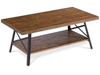 Carbon loft Enjolras Wood  Steel Coffee Table  Retail 149 49