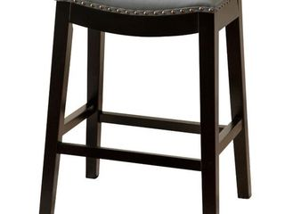 Copper Grove Divjake 26 in  Bonded leather Saddle Counter Stool