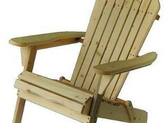 Oceanic Adirondack Chair  only   Retail 199 99