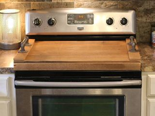 Stove Top Cover  Noodle Board