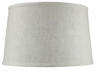 Shallow Drum Hard Back Textured Oatmeal