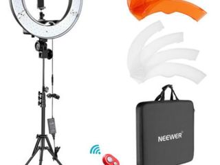 Incomplete  Only Carrying Bag and Stand  Ring light Kit  lED light with Stand and Carrying Bag  Retail 83 49