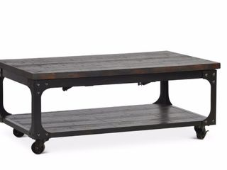 Springdale Industrial Style 48 Inch Rectangle lift Top Coffee Table by Greyson living  Retail 386 49