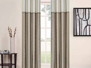 Eclipse Arno Thermalayer Blackout 52 x 95 Curtain Panel Pair