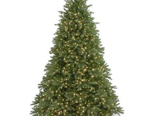 9 foot Feel Real Jersey Fraser Medium Fir Hinged Tree with 1500 Clear lights Retail 866 99