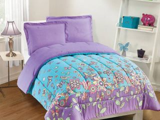Gizmo Kids Butterfly Dreams 2 Piece Full Comforter Set