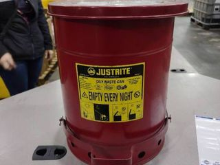 10 Gallon Round Oily Waste Can