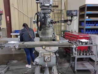 Bridgeport Series I Milling Machine  In Working Condition