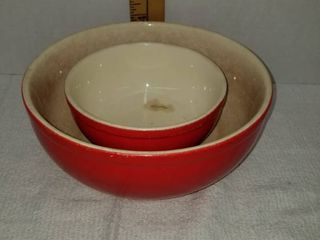 Universal Cambridge nesting bowls