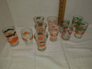 Miscellaneous Juice Glasses  Pitcher