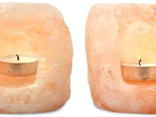 Mineralamp ltl 2 23 Natural Himalayan Hand Carved Double Hole lantern Tealight