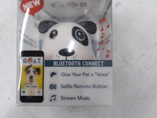 G o a t  Bluetooth Pet Speaker Spotted Dog  brand New