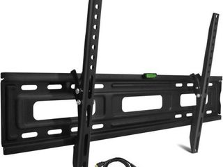 Onn Tilting TV Wall Mount Kit for 24  to 84  TVs with HDMI Cable  ONA16TM013E