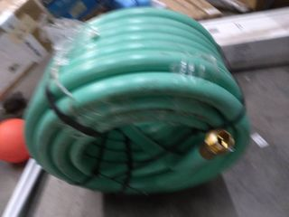 1 inch wide hosing approximately 100 ft
