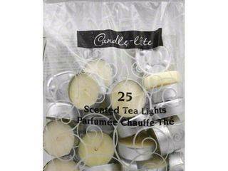 Fortune Products Candle lite Vanilla Tea light Candle