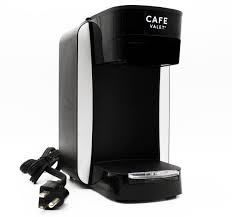 Cafe Valet Platinum Single Cup Hospitality Coffee Brewer  Black Model 60001733