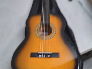Beginner 36a Classical Acoustic Guitar   3 4 Junior Size 6 String linden