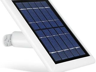 Wasserstein Solar Panel Compatible with Ring Spotlight Cam Battery and Brand New Ring Stick Up Cam Battery