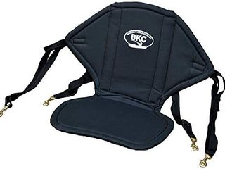 BKC UH KS222 Universal Sit On Top Soft Padded Kayak Seat and Backrest with Water Bottle Pouch