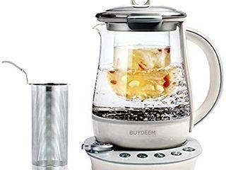 Buydeem K2423 Health Care Beverage Tea Maker and Kettle  Programmable Brew Cooker Master