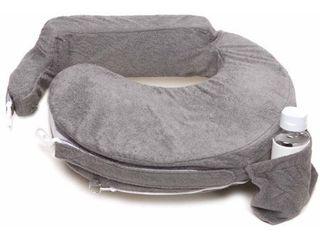 My Brest Friend Nursing Pillow  Evening Grey
