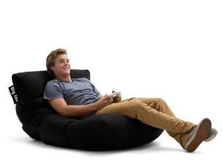 Big Joe Roma Floor Bean Bag Chair  Multiple Colors Fabrics