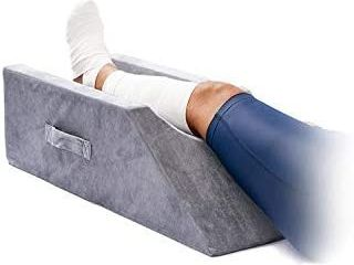 lightEase Memory Foam leg  Knee  Ankle Support and Elevation leg Pillow for Surgery