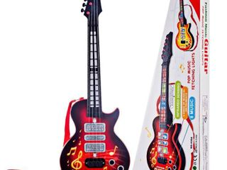 4 Strings Electric Guitar Toy Kid s Musical Instruments Educational Toy