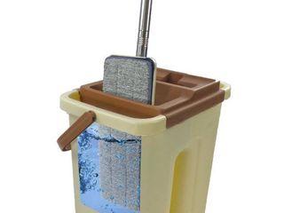 Masterhome Self Wash Dry Mop and Basket Set