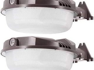 2Pack 70W lED Yard light for lED Dusk to Dawn light   Brightest 70 Watt   9800 lumens    Perfect for use as an lED Yard light