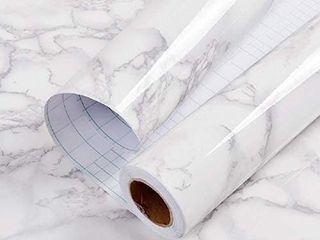 11 8  x78 7 Marble Paper Granite Gray White