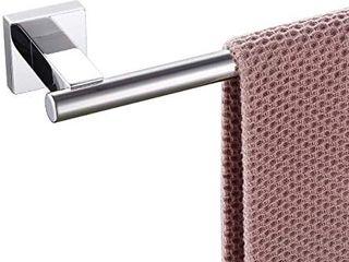 KlXHOME Miyili Bathroom Single Towel Bar 24 Inch Stainless Steel Towel Rack Bath Towel Hanger Wall Mount Polished Finish