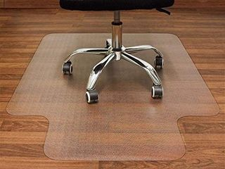 AiBOB Office Chair mat for Hardwood Floor  36 x 48 inches  Easy Glide for Chairs  Flat Without Curling  Floor Mats for Computer Desk