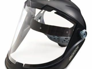 Jackson Safety lightweight Maxview Premium Face Shield With Ratcheting Headge