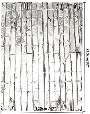 Plant Reflective Film 78 x 40 inch Silver Plant Reflective Film Garden Grow light Accessories Greenhouse Reflective sheet  peel and stick  see pictures