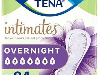Tena Intimates Overnight Absorbency Incontinence bladder Control Pad With lie