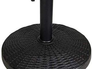 Blissun 26.5 lbs Heavy Duty Patio Market Umbrella Base Stand