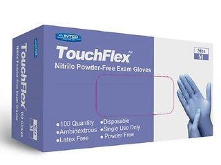 Intco Touchflex Nitrile Powder Free Gloves   100 0 ea