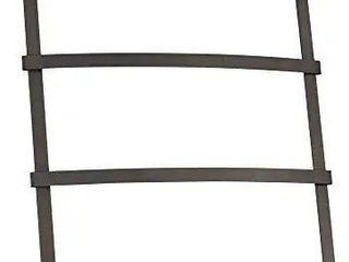 Gia Over The Door Towel Rack with 3 Bars for Bathroom   Bronze