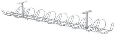 IKEA   SIGNUM Cable management  horizontal  silver color  FBA