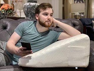 Relax Home Goods  Advanced Sleep Support  Memory Foam Wedge Pillow