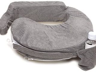 My Brest Friend Deluxe Nursing Pillow  Evening Grey