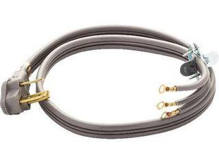 Smart Choice 530451293 4 Foot 40 Amp 3 Wire Range Cord