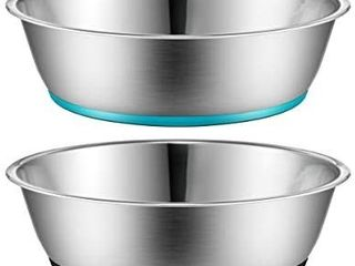 PEGGY11 light Non Slip Stainless Steel Dog cat Bowl  3 cup capacity