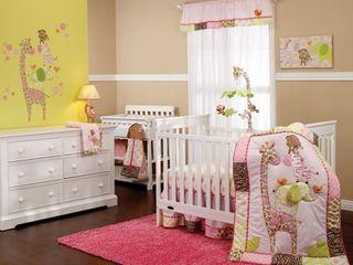 Carter s Jungle 4pc Crib Bedding Set