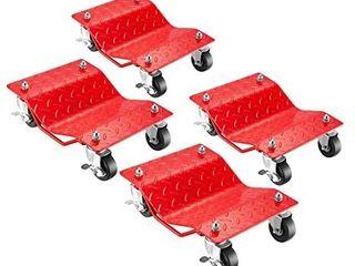 5051 Pentagon Tool   Premium 4 Pack   Car Tire Dolly   Tire Skates